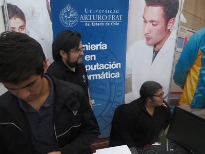 Exitosa Feria Vocacional en la Unap