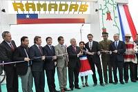 Intendente y alcalde inauguran las ramadas en Alto Hospicio
