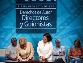 Proyecto de ley que consagra derechos de autores audiovisuales será discutido en el  Congreso