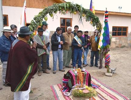 """Ecos encuentro """"Sillajuay Mallku"""" en comuna de Pica"""