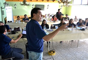 Funcionarios de Defensoría Regional se reúnen en Mamiña para planificar gestión