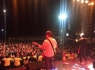 """Más de cuatro mil personas asistieron  concierto de """"Chancho en Piedra"""""""